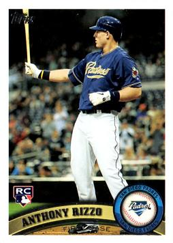 Anthony Rizzo Topps Rookie Card