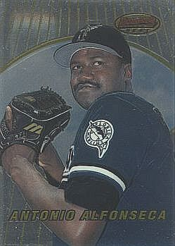 1996 Bowman's Best Antonio Alfonseca Rookie Card