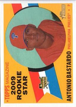 Antonio Bastardo Rookie Card