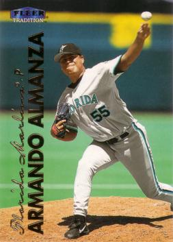 1999 Fleer Update Armando Almanza Rookie Card