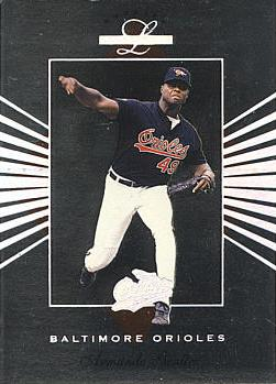 1994 Leaf Limited Armando Benitez Rookie Card