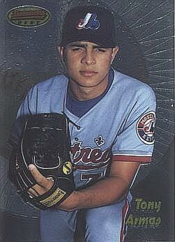 1998 Bowman's Best Tony Armas Jr. Rookie Card
