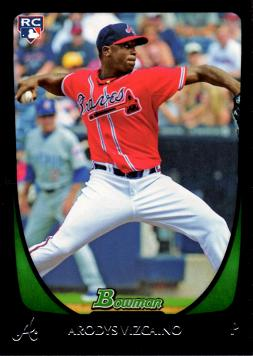 2011 Bowman Draft Picks Arodys Vizcaino Rookie Card