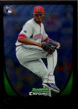 Aroldis Chapman Bowman Chrome Rookie Card