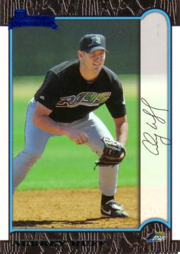 1999 Bowman Aubrey Huff Rookie Card