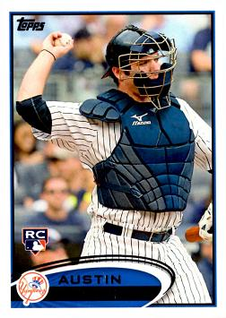 Austin Romine Rookie Card