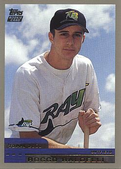 2000 Topps Traded Rocco Baldelli Rookie Card