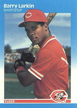 Barry Larkin Rookie Card