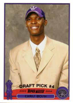 Chris Bosh Rookie Card