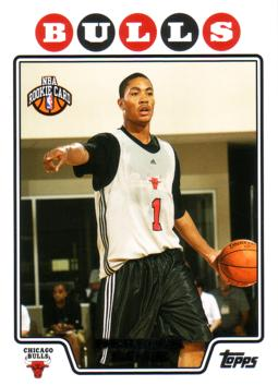 2008 / 09 Topps Derrick Rose Rookie Card