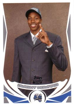 2004/05 Topps Dwight Howard Rookie Card