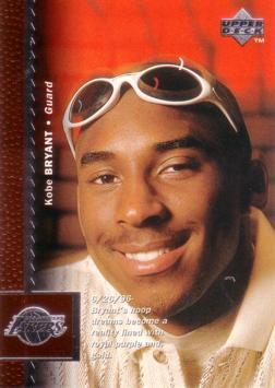 Kobe Bryant Basketball Rookie Card