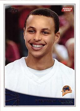 Steph Curry Rookie Card