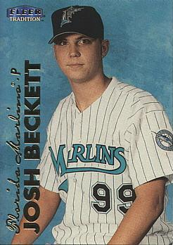 Josh Beckett Rookie Card