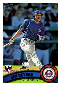 2011 Topps Ben Revere Rookie Card