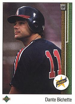 1989 Upper Deck Dante Bichette Rookie Card