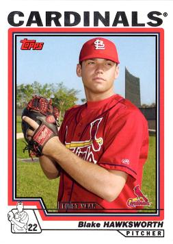 2004 Topps Blake Hawksworth Rookie Card