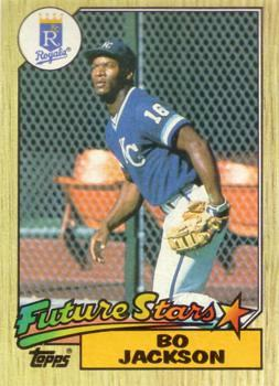 Bo Jackson Baseball Rookie Card