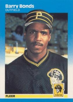 Barry Bonds Fleer Rookie Card