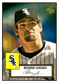 Boone Logan Rookie Card