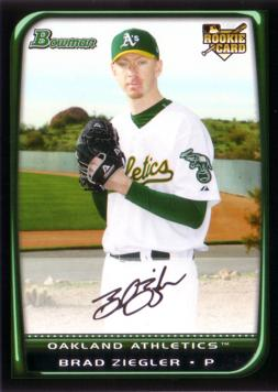 Brad Ziegler Rookie Card