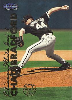 1999 Fleer Chad Bradford Rookie Card
