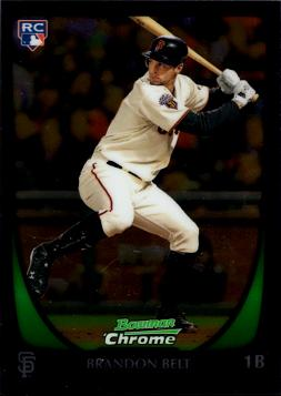 Brandon Belt Bowman Chrome Rookie Card
