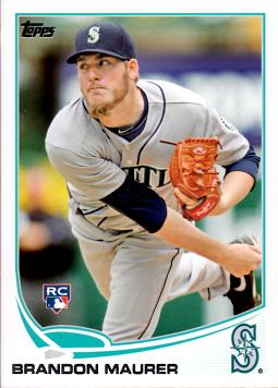 2013 Topps Brandon Maurer Rookie Card