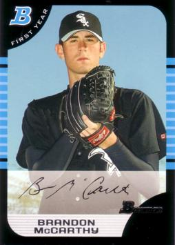 2005 Bowman Brandon McCarthy Rookie Card