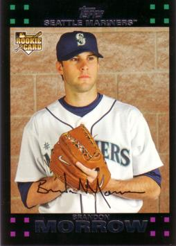 2007 Topps Brandon Morrow Rookie Card