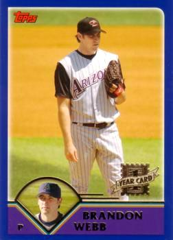 Brandon Webb Rookie Card