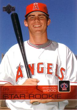 2003 Upper Deck Brandon Wood Rookie Card