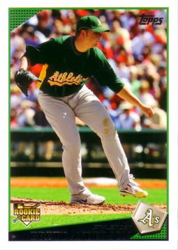 2009 Topps Brett Anderson Rookie Card