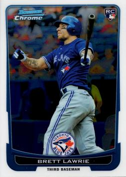 2012 Bowman Chrome Brett Lawrie Rookie Card