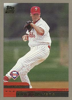 2000 Topps Traded Brett Myers Rookie Card