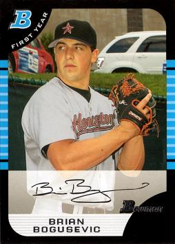 2011 Topps Brian Bogusevic Rookie Card