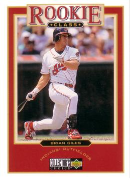 1997 Collector's Choice Brian Giles Rookie Card