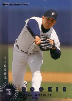 1997 Donruss Brian Moehler Rookie Card