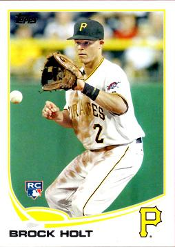 Brock Holt Rookie Card