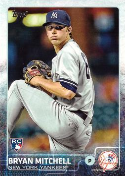 Bryan Mitchell Rookie Card