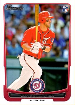 Bryce Harper Bowman Draft Rookie Card