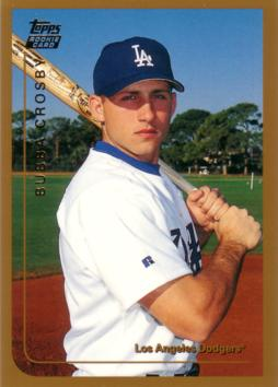 1999 Topps Traded Bubba Crosby Rookie Card