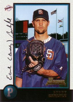 1998 Bowman Buddy Carlyle Rookie Card
