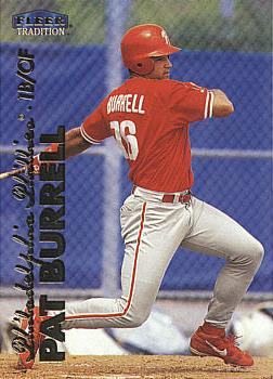 1999 Fleer Update Pat Burrell rookie card