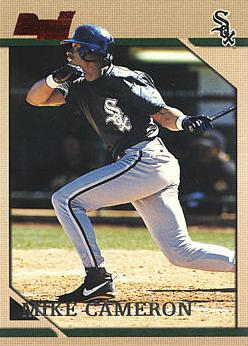 1996 Bowman Mike Cameron rookie card