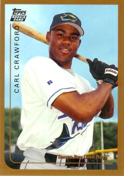 Carl Crawford Rookie Card