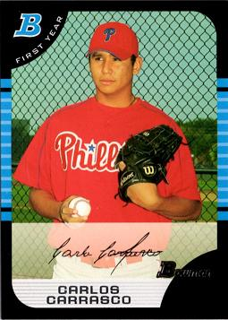 Carlos Carrasco Rookie Card