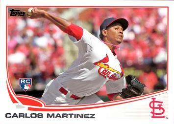 Carlos Martinez Baseball Rookie Card