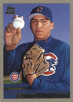 2000 Topps Traded Carlos Zambrano Rookie Card