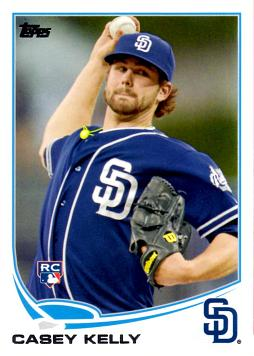 2013 Topps Casey Kelly Rookie Card